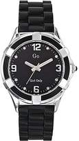 Go Women's 697823 Black silicone Band Watch.
