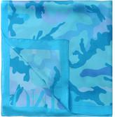 Valentino Psychedelic Print Silk Stole 70x180cm