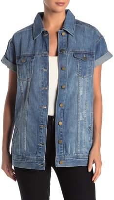 Jag Jeans Liverpool Jeans Co Rolled Short Sleeve Denim Jacket