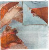 Dondup watercolour scarf - men - Modal/Virgin Wool - One Size