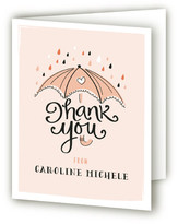 Minted Umbrella Shower Baby Shower Thank You Cards
