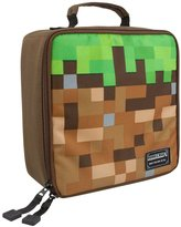 Minecraft Childrens/Kids Official Pixelated Grass Lunch Box