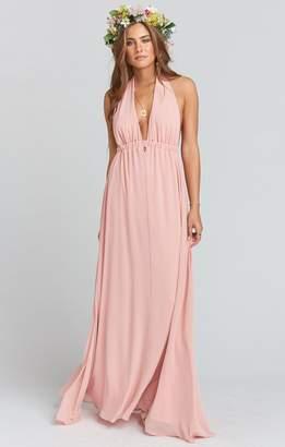 Show Me Your Mumu Luna Halter Dress