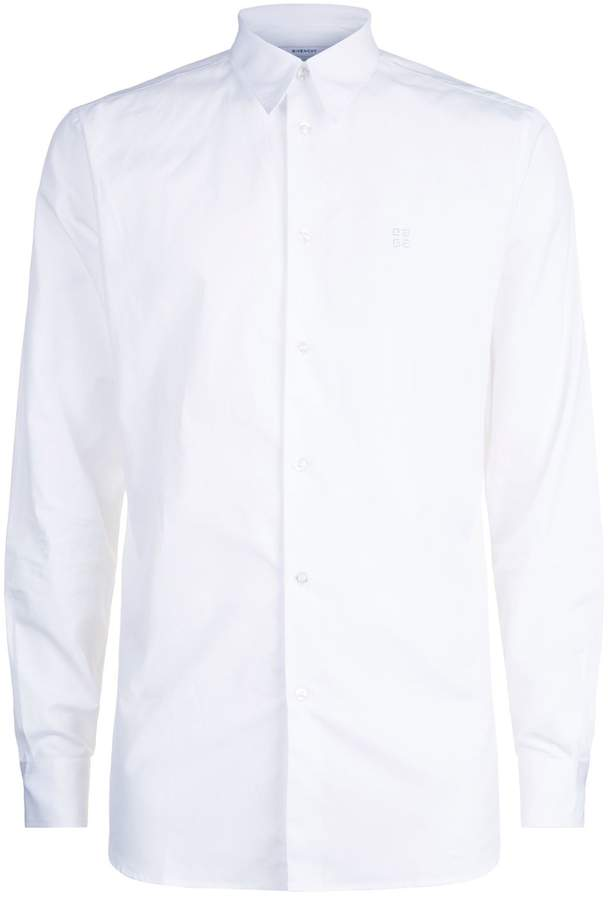 Givenchy Embroidered Crest Shirt