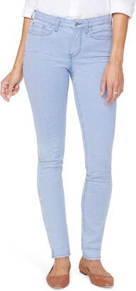NYDJ Alina Pinstripe High Waist Stretch Skinny Jeans