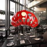Brother quan Pendant Light One Light Resin and Glass