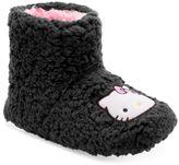 Hello Kitty Women's Plush Bootie Slippers