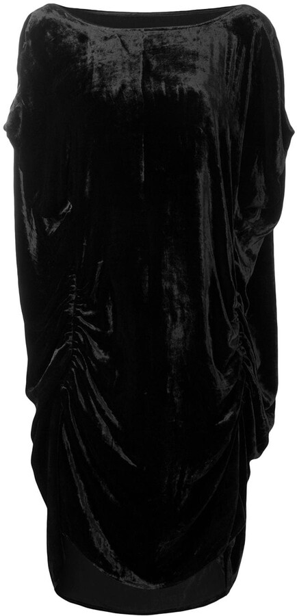 Paula Knorr Ruched Midi Dress