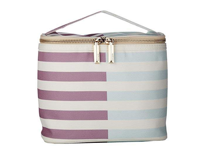 Kate Spade Two-Tone Stripes Lunch Tote