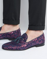Walk London Chelsea Paisley Dress Slippers