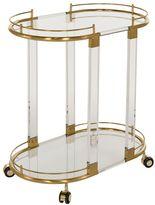 Safavieh Lennon Glass Bar Cart