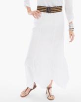 Chico's Handkerchief Hem Maxi Skirt