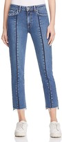 Paige Vintage Julia Ankle Jeans in Medium Blue