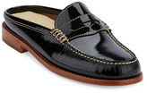 G.H. Bass Wynn Patent Leather Slide Loafers