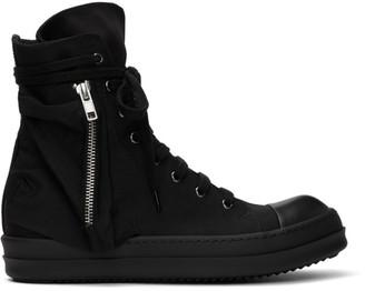 Rick Owens Black Bauhaus Sneakers