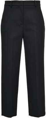 Pinko High-Rise Cropped Tailored Trousers