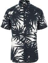 River Island Mens White Only & Sons Hawaiian short sleeve shirt