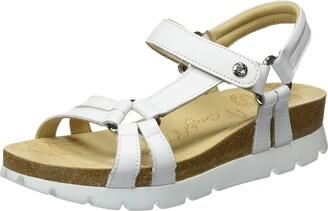 Panama Jack Sally Basics Womens Wedge Heels Sandals