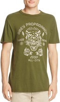 Obey Kiss Me Deadly Tiger Graphic Tee