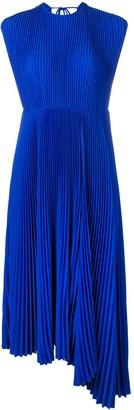 MSGM Pleated Asymmetric Dress