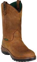 "John Deere Men's Boots WCT 12"" WP Safety Toe Wellington 4604"
