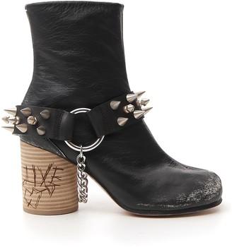 Maison Margiela Tabi Studded Boots