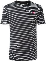 McQ by Alexander McQueen 'Swallow' striped T-shirt - men - Cotton - S