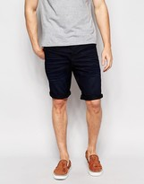 Jack & Jones Dark Wash Anti Fit Denim Shorts