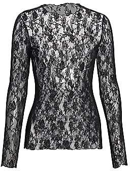 Wolford Women's Katharina Sheer Lace Pullover