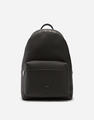 Dolce & Gabbana Calfskin Palermo Backpack