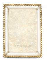 "Jay Strongwater Stone-Edge 4"" x 6"" Frame"