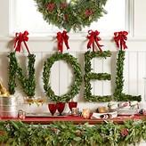Williams-Sonoma Williams Sonoma Myrtle Letter Wreath, Noel
