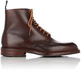 Crockett Jones Crockett & Jones Men's Galway 2 Apron-Toe Boots-BROWN