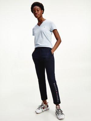 Tommy Hilfiger Organic Cotton Slim Fit V-Neck T-Shirt