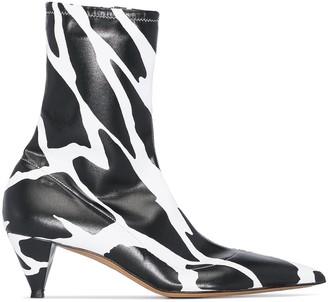 Alexandre Vauthier Veruschka 45mm ankle booties