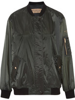 Burberry Shell Bomber Jacket - Army green