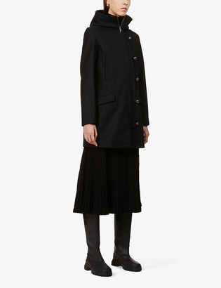 Sessun Camp Night wool-blend coat