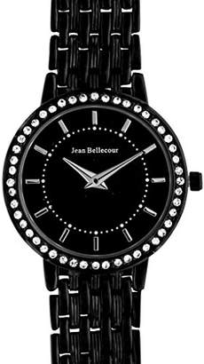 Jean Bellecour Womens Analogue Classic Quartz Watch with Stainless Steel Strap REDS16-BB
