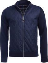 Barbour Men's Culzean Quilted Full-Zip Sweater