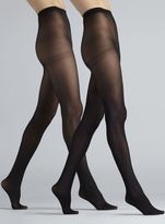 Anne Klein Mixed Tights Two Pack