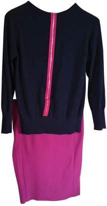 Diane von Furstenberg Navy Wool Knitwear for Women