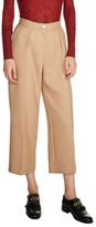 Maje Women's Wide Leg Crop Pants