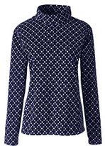 Classic Women's 100 Everyday Fleece Mock Pullover-Mosaic Teal