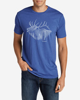 Eddie Bauer Men's Graphic T-Shirt - Bugling Elk