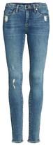 Blank NYC Women's Blanknyc Mind Games Distressed Skinny Jeans
