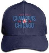 Parisama-Hat Chicago Cubs World Series 2016 Champions Baseball Cap For Men Women (7 Colors)