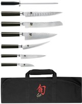 Shun Classic 8-Piece Student Knife Roll Set