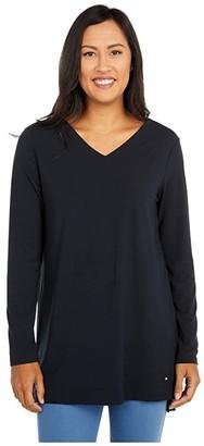 FIG Clothing Rou Tunic (Black) Women's Clothing