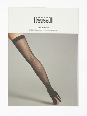 Wolford Luna 20 Denier Stay-Up Stockings
