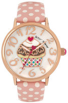 Betsey Johnson Cupcakes And Gingham Watch